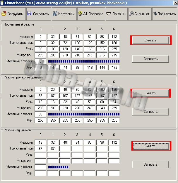 chinaphone mtk audiosetting 2.0